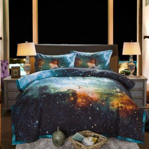 Galaxy Bedding Sets 3D Printed Cloud Quilt Comforter Sets